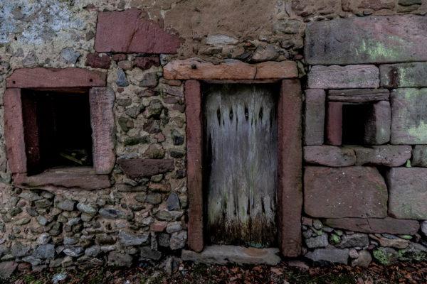Porte de bois